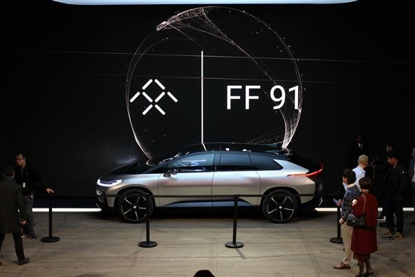 贾跃亭FF91售价将超越宝马i8的节奏