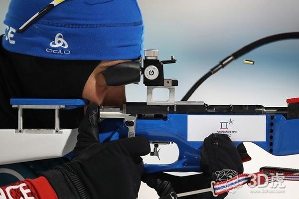 法国名将配备3D打印步枪 平昌冬奥会夺金
