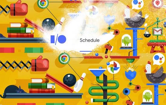 Google公布五月I/O 2018大会日程