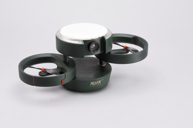 ALVIX无人机来了,拥有环形收纳可变形旋翼