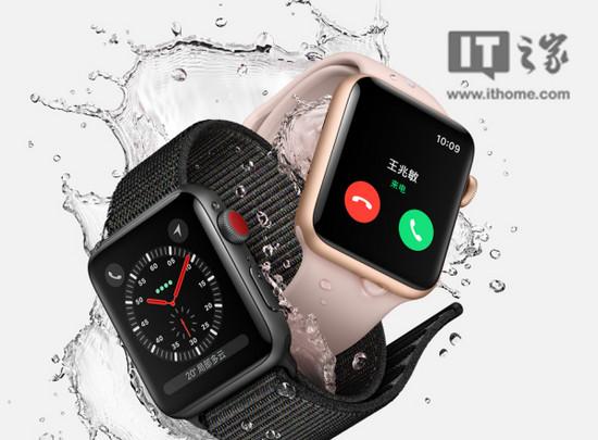 苹果Apple Watch销量猛增:2017 Q4卖出800万块,S3较S2销量翻番