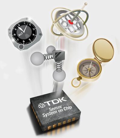 TDK再创消费级6轴IMU新高度 推出新款CORONA系列高级运动传感器