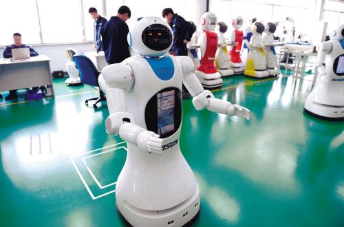 记者探秘中国最大机器人产业基地