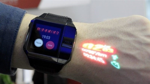 内置投影仪 海尔推新款智能手表Asu