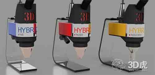 3D-Hybrid推出为CNC机器提供先进3D打印功能的新工具