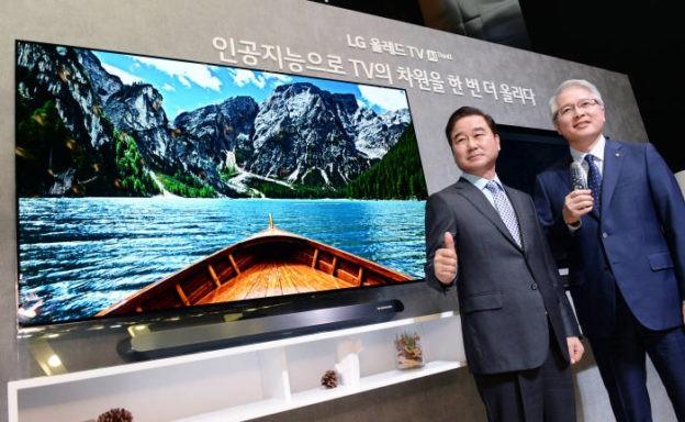 人工智能新应用 LG将推出内建AI架构OLED电视