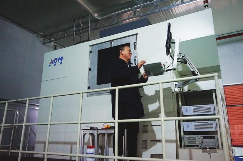 挑战世界纪录 苏企自主研发工业级金属3D打印机