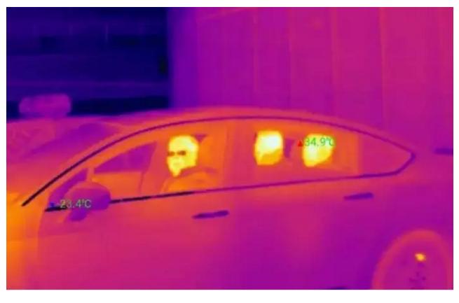 红外热成像技术监控HOV车道 | 技术与市场分析