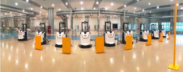 深耕AGV 今天国际机器人科技智造未来