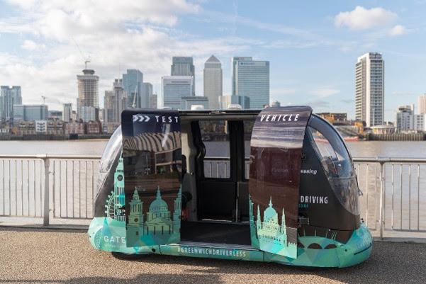 英国TRL测试自动驾驶豆荚车 探究公众看法