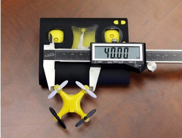 史上最小无人机来了,装上五号电池就能飞
