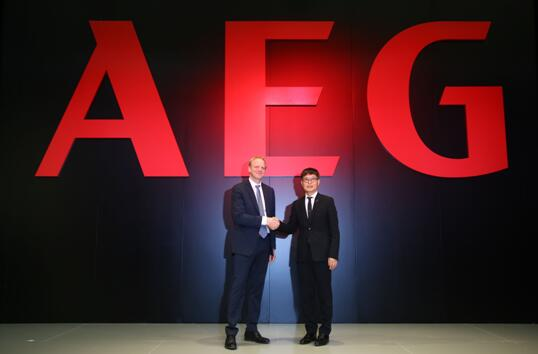 AEG借AWE中国首秀 方洪波和Jonas亲站台