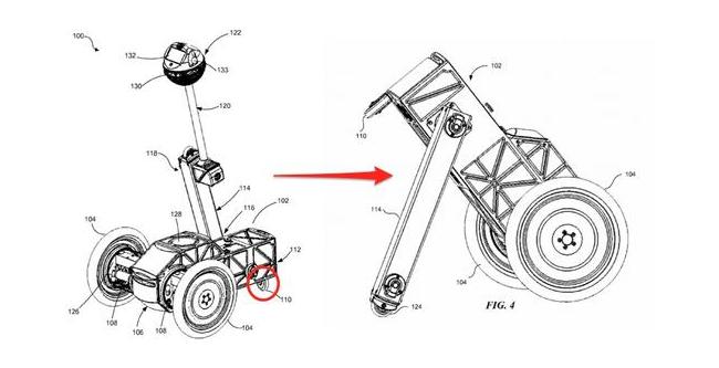 Facebook获得自平衡机器人新专利 能够追踪用户的一举一动