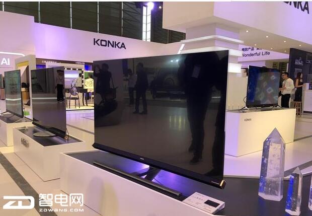 AWE2018:康佳8K电视预示新时代的到来