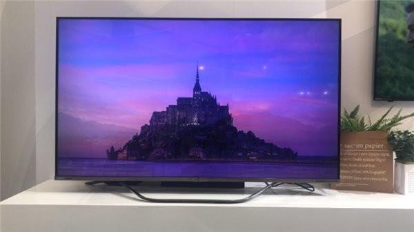 AWE 2018大会:夏普发布首款65英寸8K电视