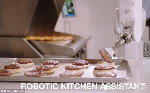 机器人做汉堡 因动作太慢而被停职