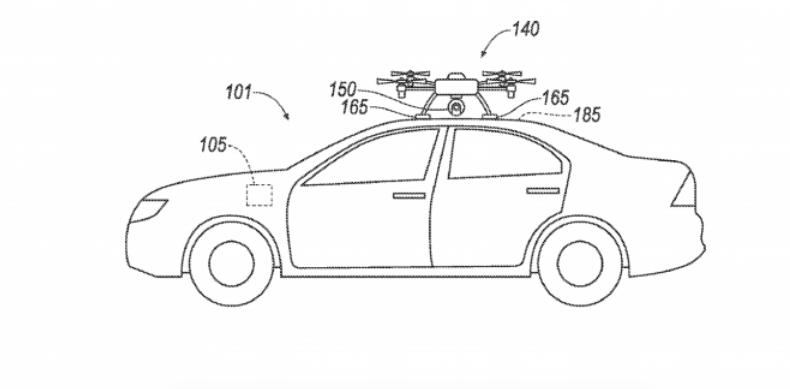 福特新专利:用无人机替代故障传感器 引领汽车前往维修中心