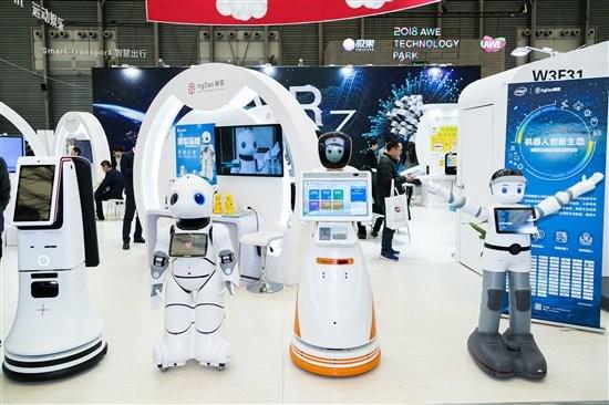 今日看点:机器人成AWE2018展会最大亮点