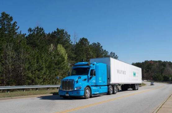 外媒:Waymo携手谷歌在亚特兰大测试无人驾驶卡车