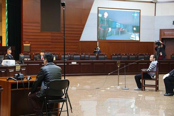 北京一中院庭审 证人戴VR眼镜3D还原真相