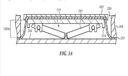 苹果新专利:能抵御面包、泡面渣的键盘