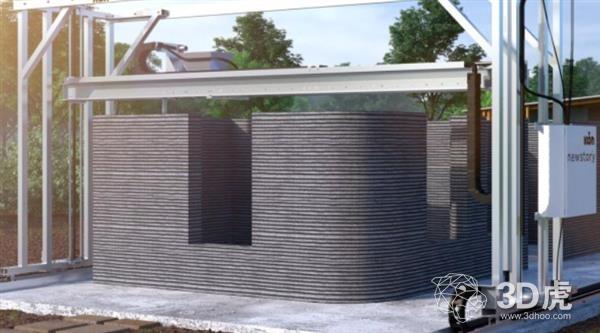New Story推出售价低于10万美元的建筑3D打印机Vulcan