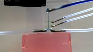 微流体技术+碳纳米管纤维=更安全的脑内植入
