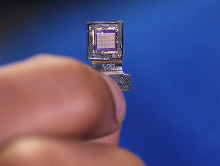 用于体内成像的无透镜荧光显微镜
