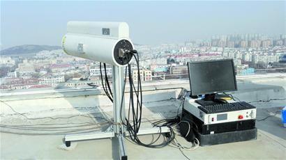 3D可视激光雷达扫描仪实时锁定扬尘污染源头