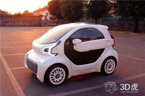 XEV的3D打印电动车将于2018年年底投入量产