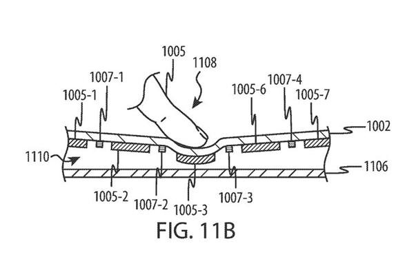 苹果新专利揭示:或为MacBook推触屏键盘