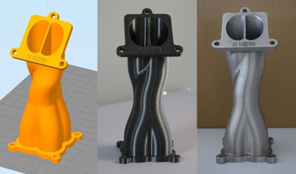 BigRep将3D打印市场瞄准生产大型汽车零部件