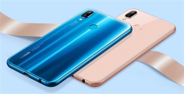 """3月20日,华为正式发布新机nova 3e,这是华为首款""""刘海屏""""手机,也宣告图片"""