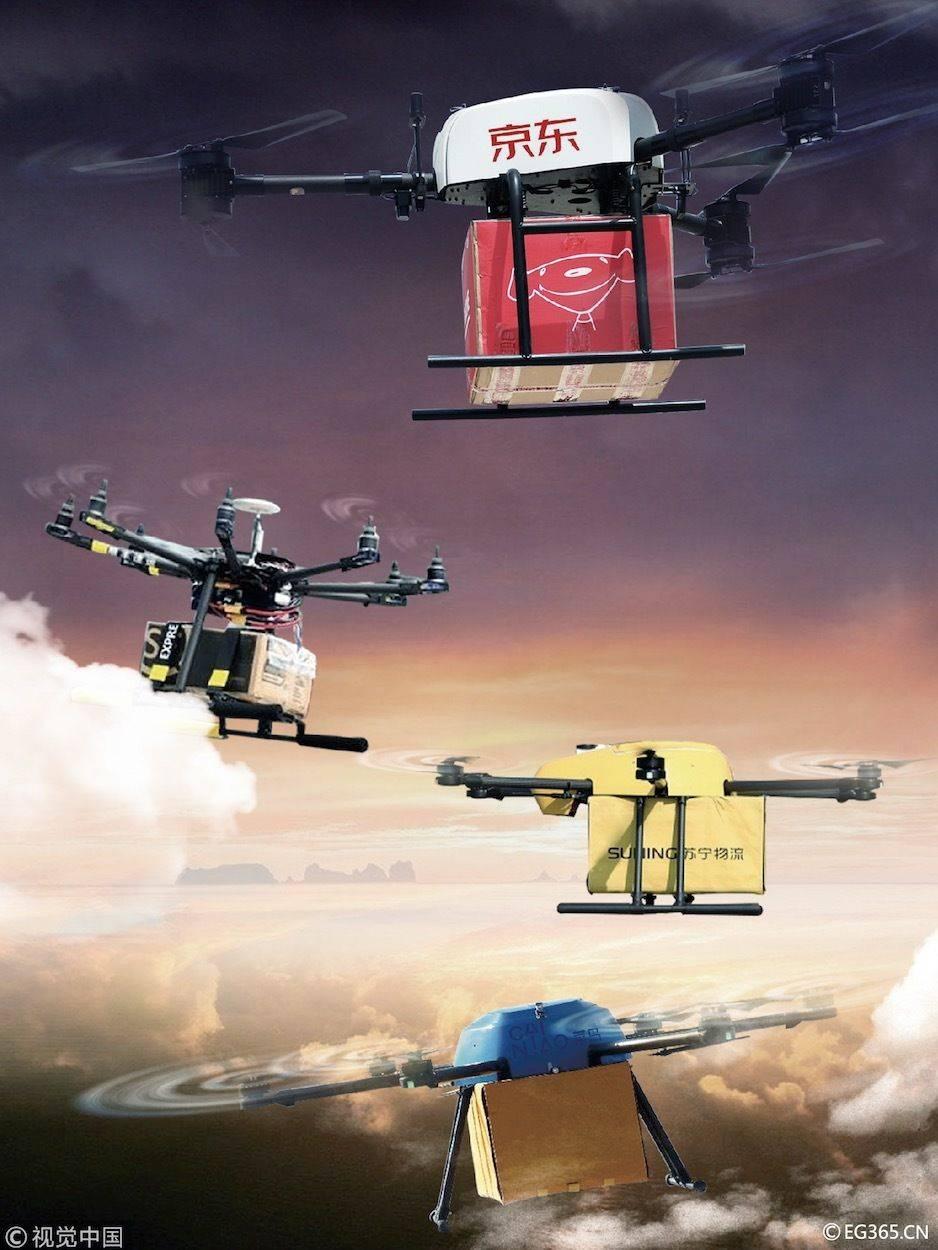 """空管系统和政府监管双""""管""""齐下,无人机送货计日可期"""