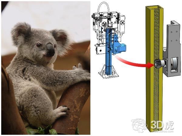 """智利大学开发出具有无限Z轴的""""攀爬""""3D打印机"""