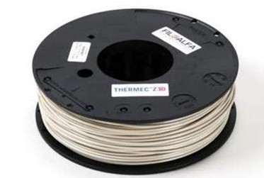 FILOALFA推出可代替PEEK的3D打印材料:THERMEC ZED