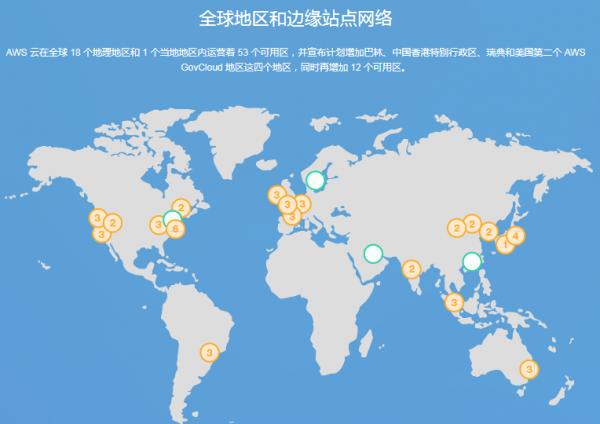 2018全球十大云服务商数据中心建设 布局海外云服务市场