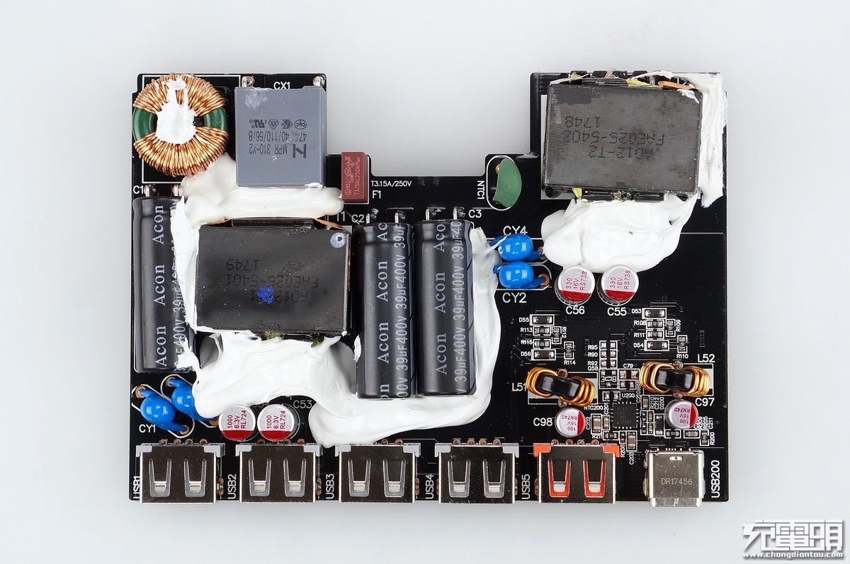 小米6口USB充电器拆解,这几大供应商中标百万台订单,国产芯片受益