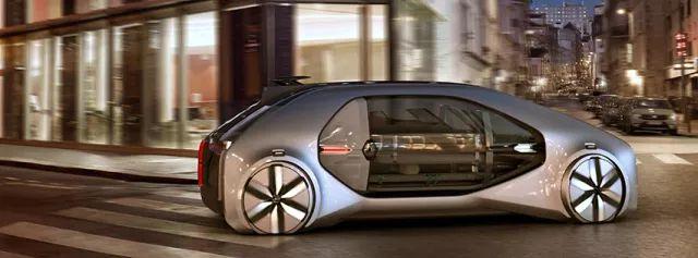 雷诺EZ-Go自动驾驶新型概念车亮相,帅炸天