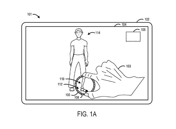 微软揭新专利:或将推透明版Surface Dial
