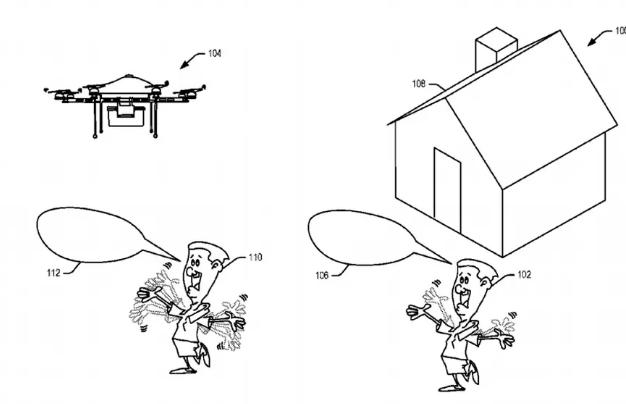 亚马逊申请快递交付无人机新专利,可以理解用户语音和手势