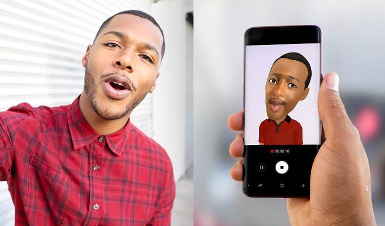 自拍遇上AR增强现实 三星Galaxy S9教你如何成为社交达人
