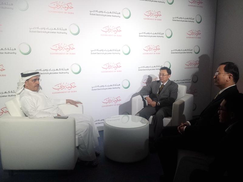 迪拜举行马克图姆太阳能公园四期项目开工奠基仪式