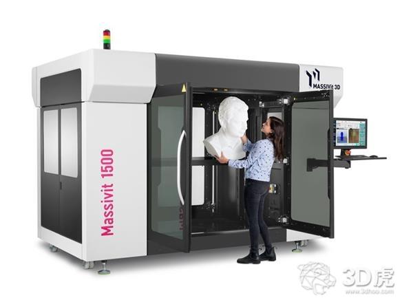 Massivit 1500 Exploration:带有即时固化凝胶点胶技术的新型大幅面3D打印机