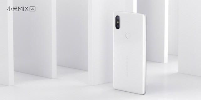 小米发布MIX 2S:新增双摄支持无线充电 3299元起售