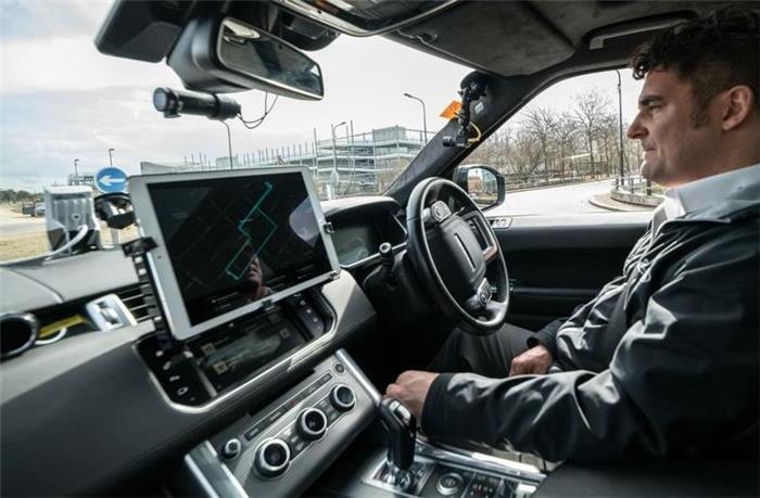 英国Autodrive项目展示自动驾驶停车方案 旨在缓解交通拥堵