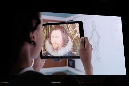 苹果发布会 AR技术将开创全新的学习方式