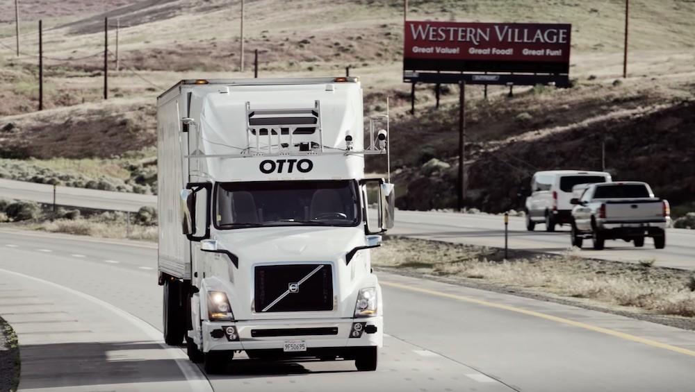 自动驾驶卡车创业公司Otto联合创始人离开Uber