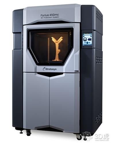 Stratasys的FORTUS 450MC 3D打印机为UPSA节省高达95%的成本
