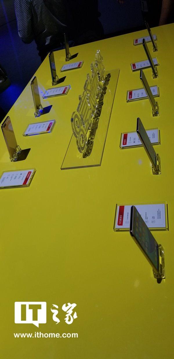 华为畅享8系列手机现场上手实拍图:为年轻用户而生的三兄弟